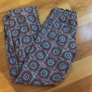 Roxy Pants - Roxy Printed pants