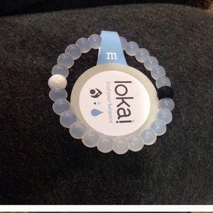 Jewelry - NWT clear Lokai bracelet