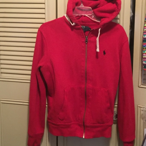 29% off Polo by Ralph Lauren Sweaters - Red Polo Hoodie !! from ...