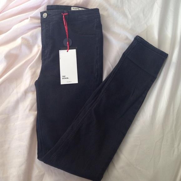 5b3d2cdd Zara Pants | High Waisted Jeggings | Poshmark