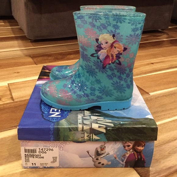 Shoes Disney Frozen Rain Boots Girls Size 11 Poshmark
