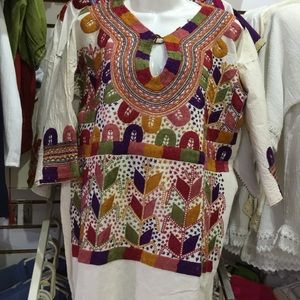 Traditional Mexican blouse!