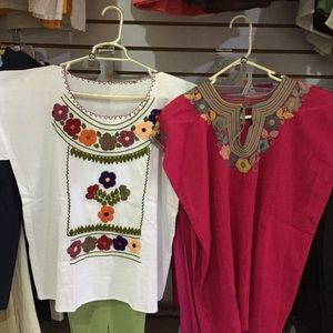 Traditional Mexican blouse