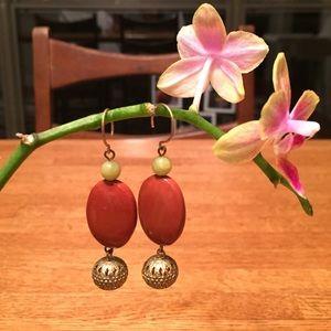 Vintage Inspired Drop Earring