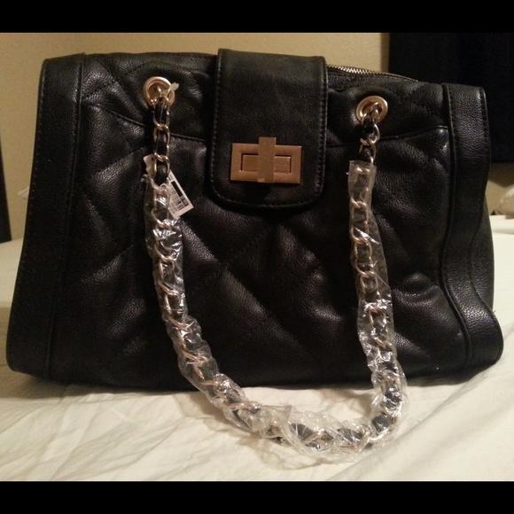 78c88e7c706 ALDO Black Quilted Handbag Purse