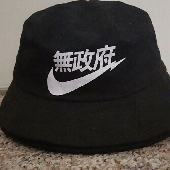 Nike Other - Rare black chinese nike bucket hat bdd8208b253