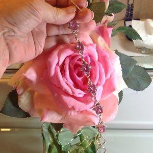 Precious Pink Topaz Bracelet