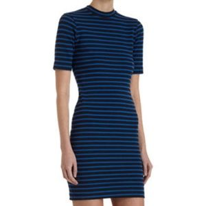 T by Alexander Wang Dresses & Skirts - T by Alexander Wang Striped Knit Dress