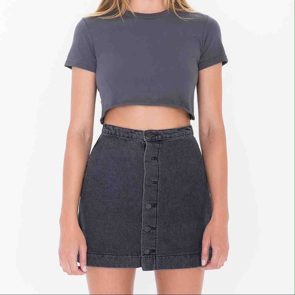 31% off American Apparel Dresses & Skirts - 🔴Sold🔴AA new Button ...