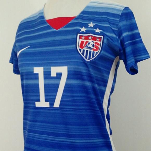 newest 0e184 a46de Heath 3 Star USWNT Soccer Jersey *Katrina* NWT