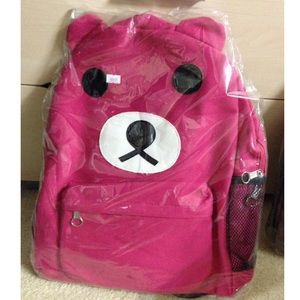 Handbags - Brand new Pink Bear backpack