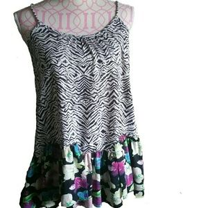 Tops - 🎀3 FOR $30 NEW ZEBRA & FLORAL PRINT TOP