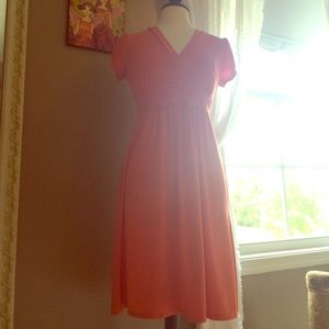Merona Dresses & Skirts - Beautiful coral wrap dress