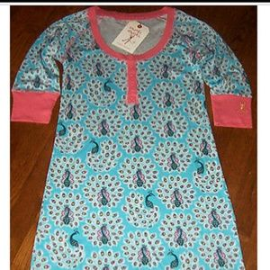 Munki Munki 3/4 Sleeve Nightgown M