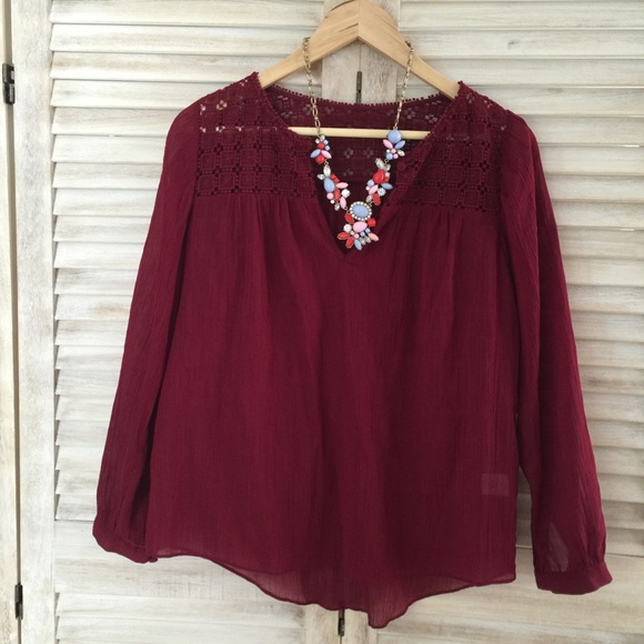 Jcrew Peasant Blouse 5