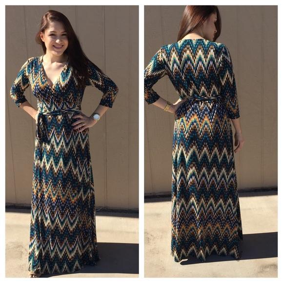 23290a626cca Veronica M Dresses | Listing Wrap Dress Sale | Poshmark