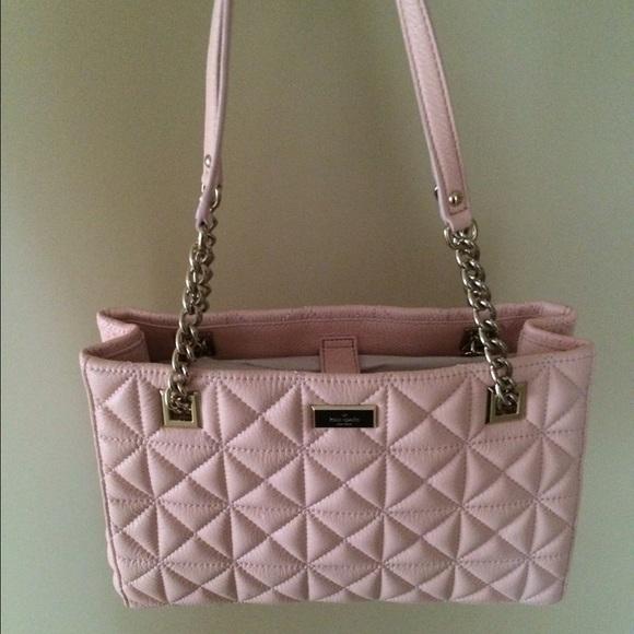 47% off kate spade Handbags - Kate Spade Pink Quilted Purse (NWT ... : quilted kate spade handbag - Adamdwight.com