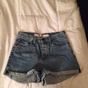 Brandy Melville polka dot shorts