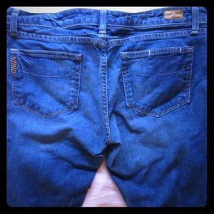 Paige denim straight jean size 30