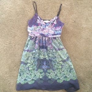 Urban Outfitters Dresses & Skirts - Beautiful Floral Orchid Dress Sz 4