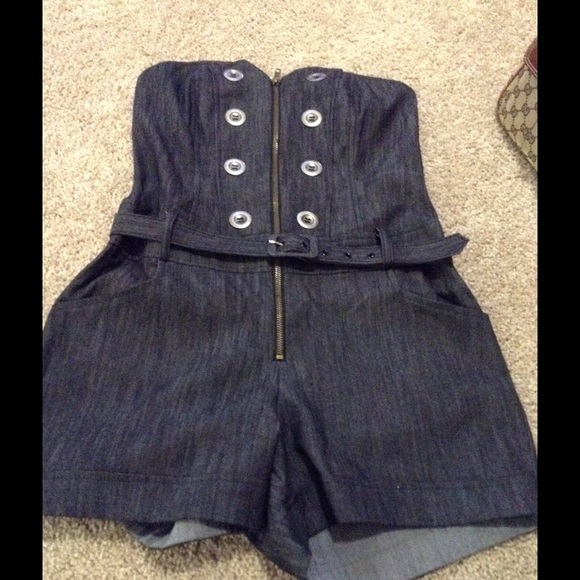 Grass collection  Jeans - Romper