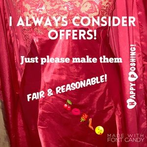 ❤️OFFER WITH THE GOLDEN RULE
