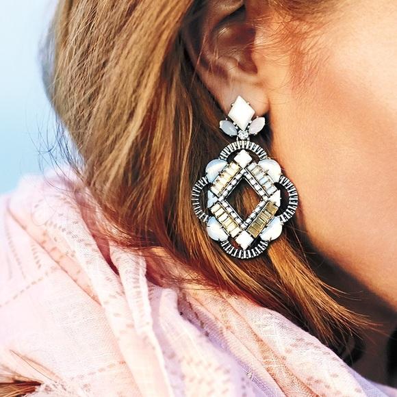 Stella Dot Kaia Chandelier Earrings