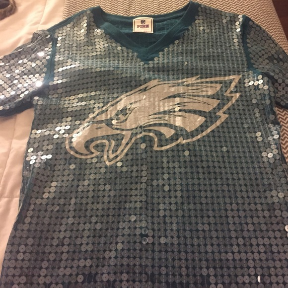 new style c3404 a527d PINK Victoria's Secret Sequin Philadelphia Eagles