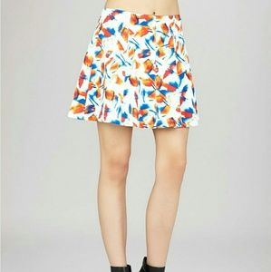 BCBGeneration multicolored A line skirt