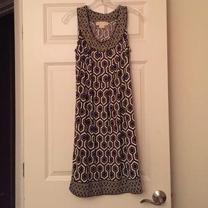 Michael Kors geometric print dress