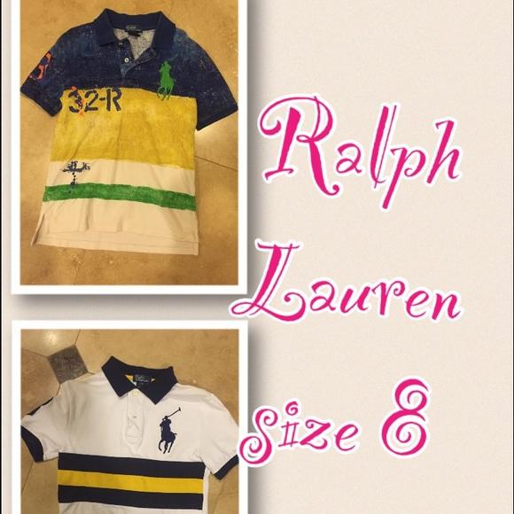 Ralph Lauren Tops - RALPH LAUREN BOYS POLO SHIRTS ( selling both)