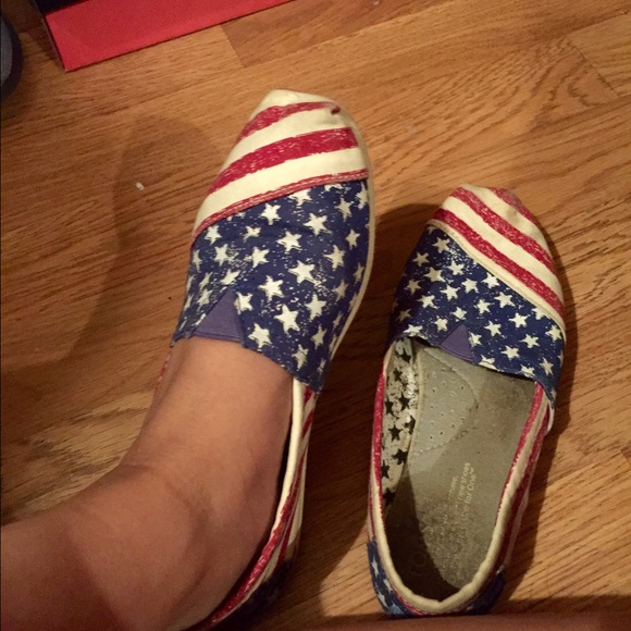 American Flag Toms Shoes For Sale