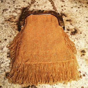 Handbags - GORGEOUS Fully Beaded Vintage Flapper Bag