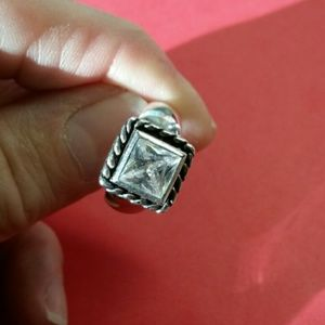 Stirling Jewelry Rings White Gold