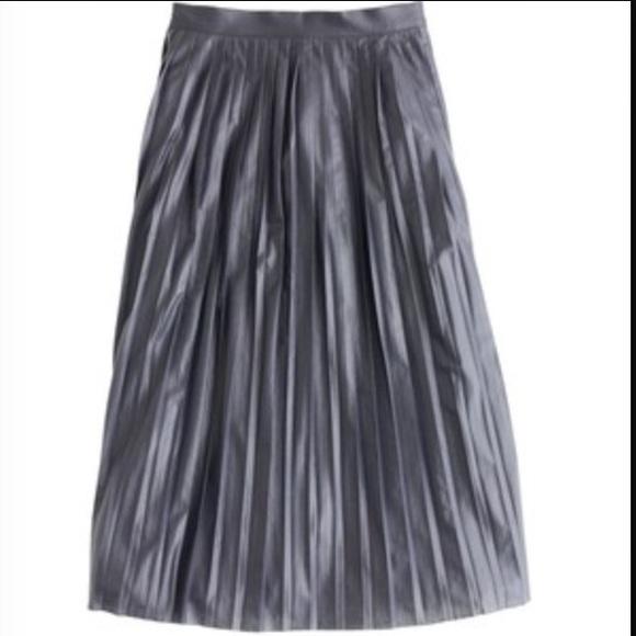75 j crew dresses skirts new j crew shiny midi