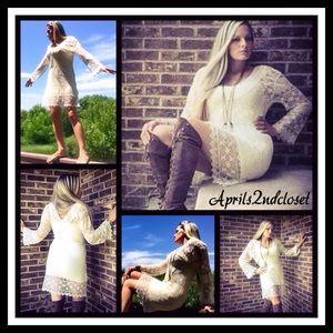 ❗️1-HOUR SALE❗️Crochet Lace Coverup Dress