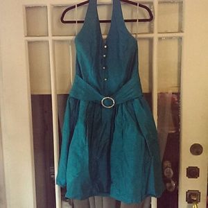 Fun vintage halter dress