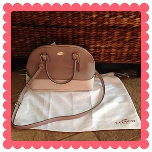 COACH Cora Dome Satchel