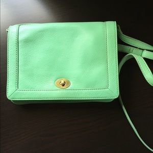 J. Crew Tillary Purse Mint