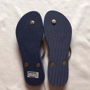 2c72b65e0 Havaianas Shoes - Navy and gold peacock Havaianas