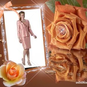 Nubiano Dress with matching jacket  lowered