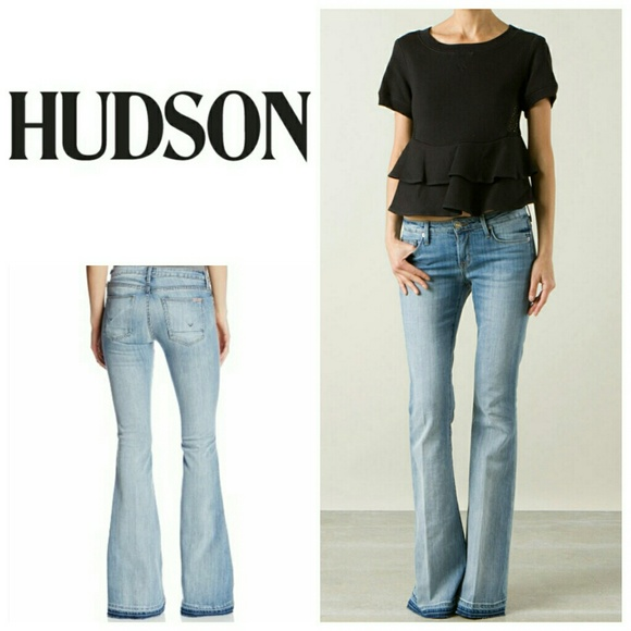 62% off Hudson Jeans Denim - Hudson Mia Flare Jeans from ...