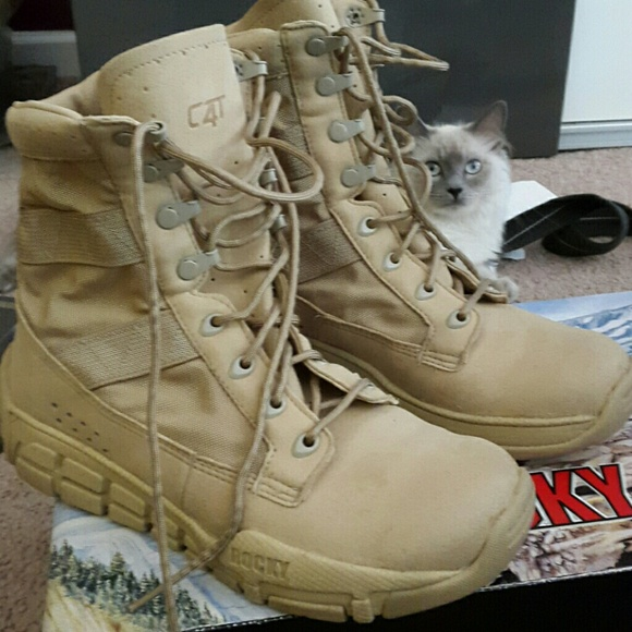 86% off Rocky Other - NWT Rocky c4t combat boots 6 in men's. from ...