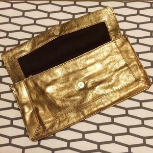 French Connection Bags - French Connection 'Bami' Geometric Panel Clutch