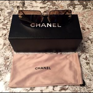 9571251213659 CHANEL Accessories - Chanel Sunglasses with Swarovski Crystal CCs