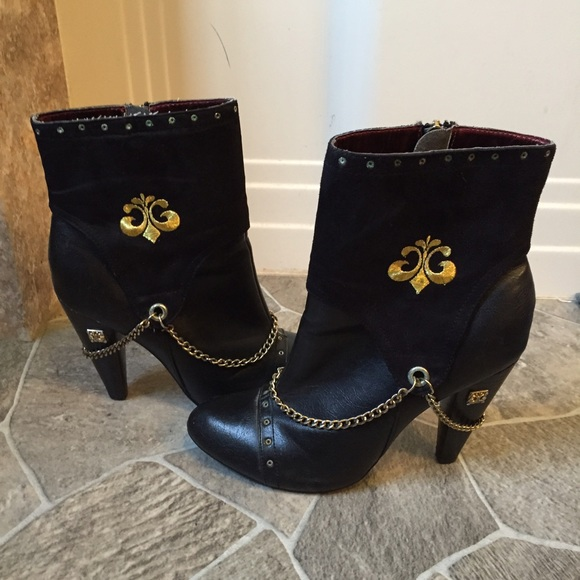 Dereon Beyonce S Chained Dareon Ankle Boots Booties From