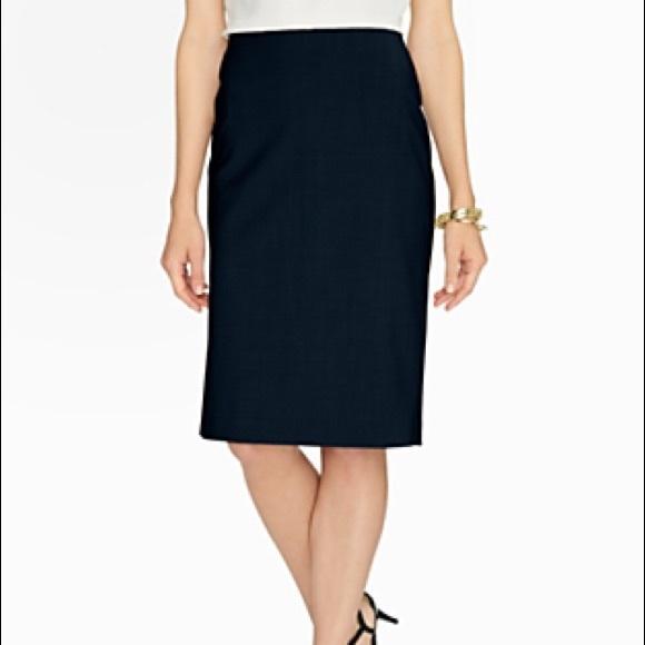 50 talbots dresses skirts high waist pleat pencil
