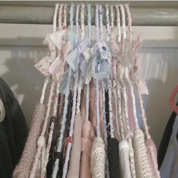 10 Brandy Melville Fabric Hangers