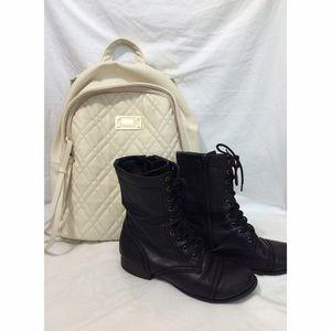 Boots - Black Combat Boots