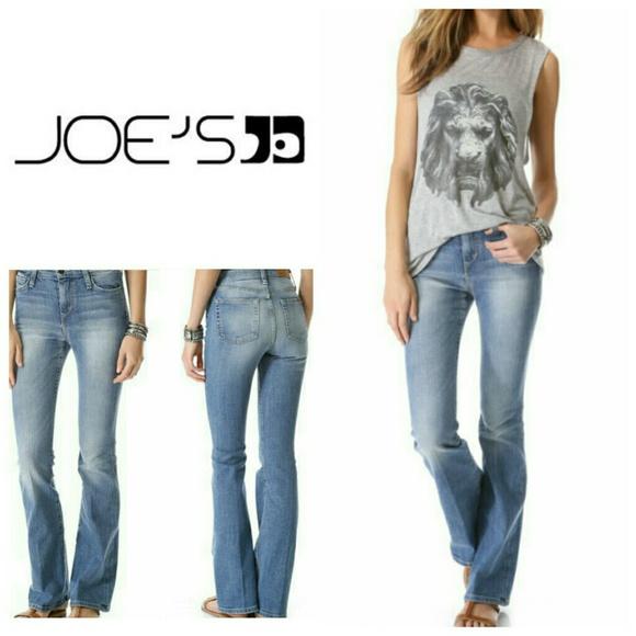 62% off Joe's Jeans Denim - Joe's High Rise Flare Jeans from ...